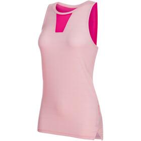 Mammut Crashiano Naiset Hihaton paita , vaaleanpunainen